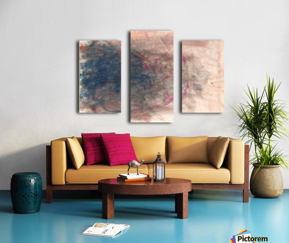 Unpaired Canvas print