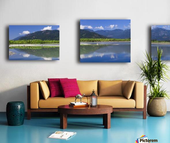 Peg Leg Bar in the morning; Chilliwack, British Columbia, Canada Canvas print