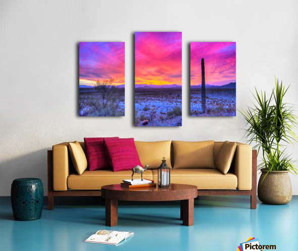 Sonoran_sunset Canvas print