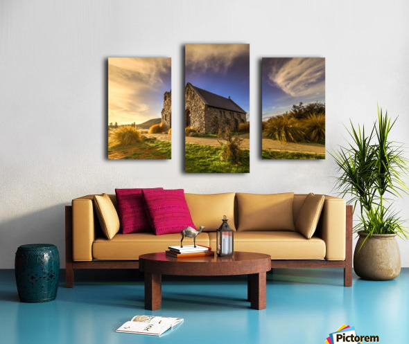 Highlights of Shepherd Canvas print