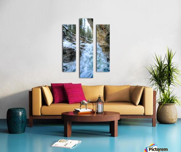Frozen Moments Canvas print