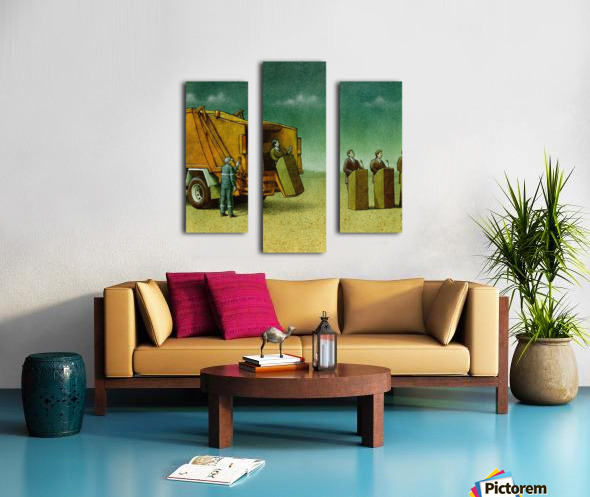 Cleaning Canvas print