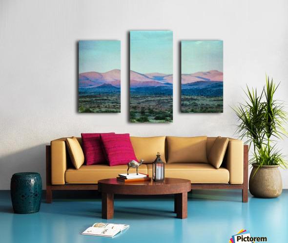 Landscape After A Rain Canvas print
