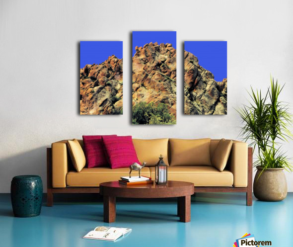 Another Rock Hill  Canvas print