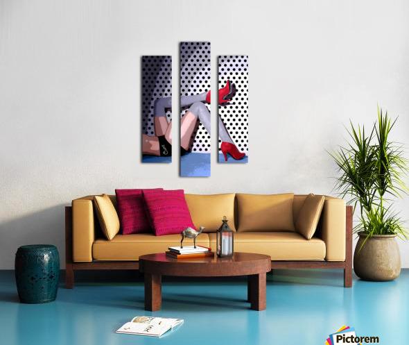 C*NT Canvas print