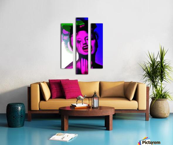TheJoker Canvas print