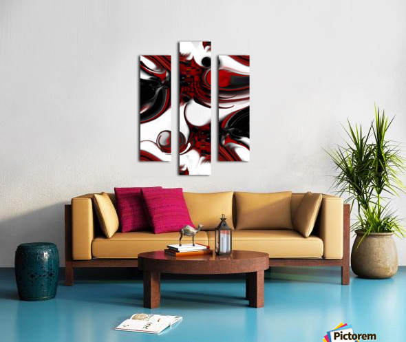 Expression and Creation Canvas print