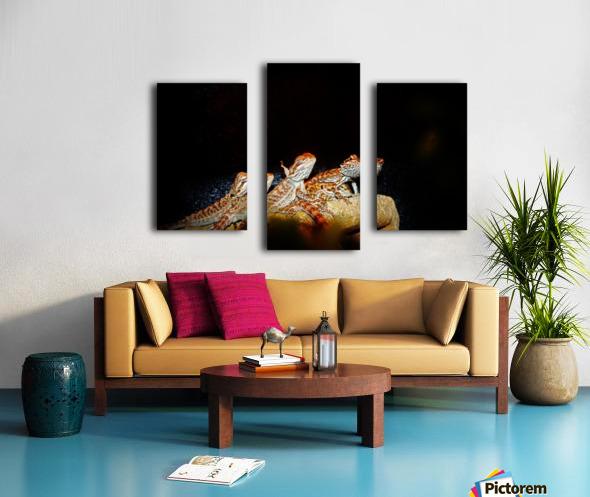 Reptile movie Stars Canvas print
