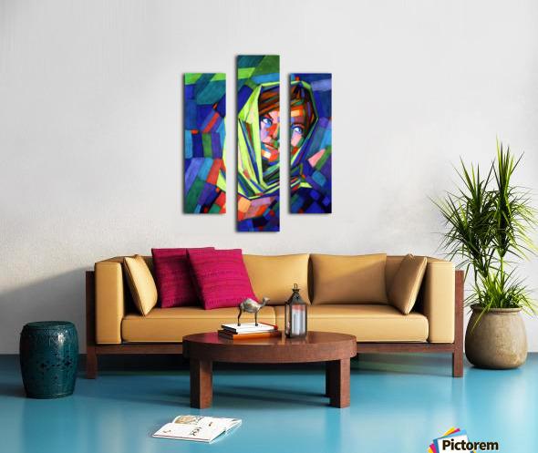 Pieternella - 18-07-15 Canvas print