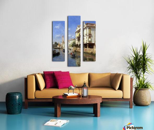 Canale della Guerra, Venice Canvas print