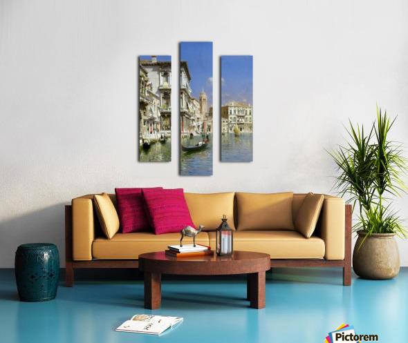 In the gondola Canvas print