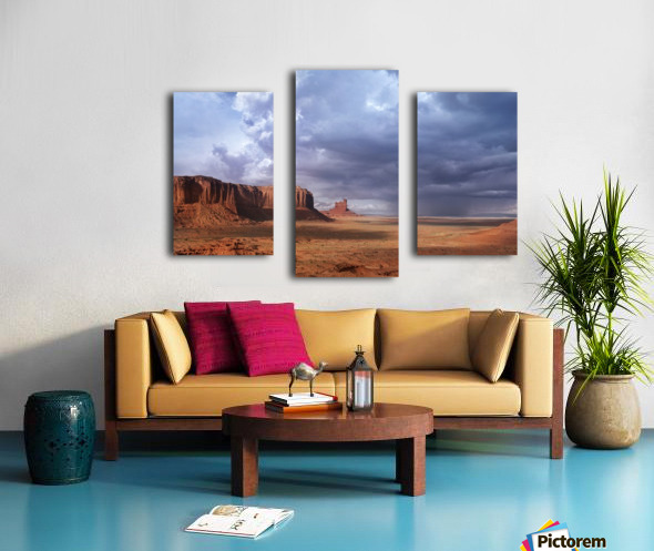 Monument valley 3 Canvas print