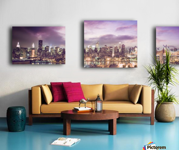 New York Cityscape Canvas print