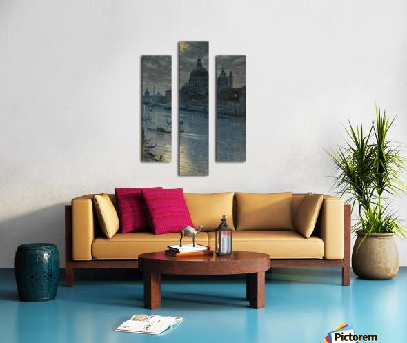 Townscape Canvas print