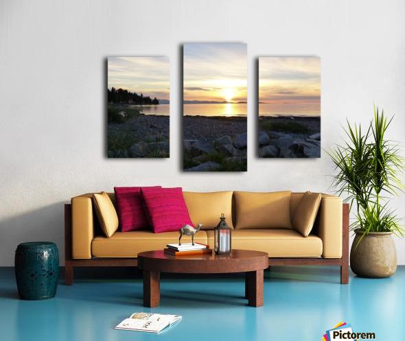 Walking in Light Canvas print