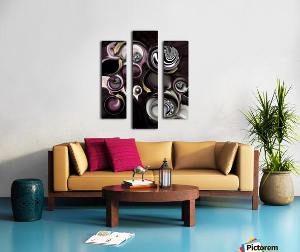 My Sensitive Morphysm Canvas print