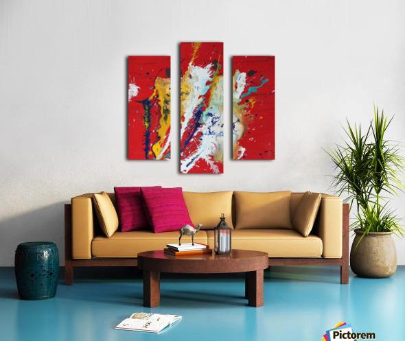 PICTO 1 Canvas print