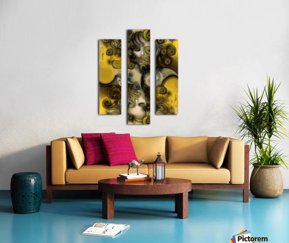 Movement with Venus Canvas print