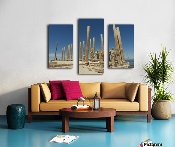 The Time Between Canvas print