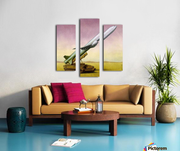 New Weapon Canvas print