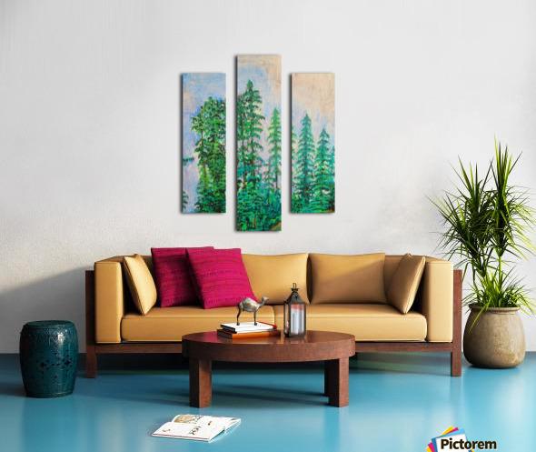 manali Canvas print