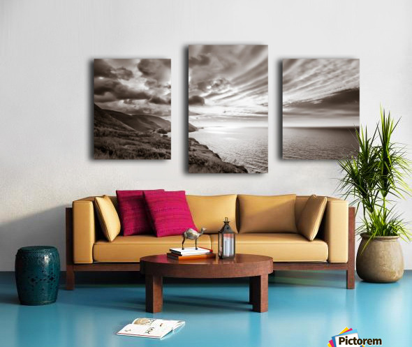 Breakthrough Skies Canvas print