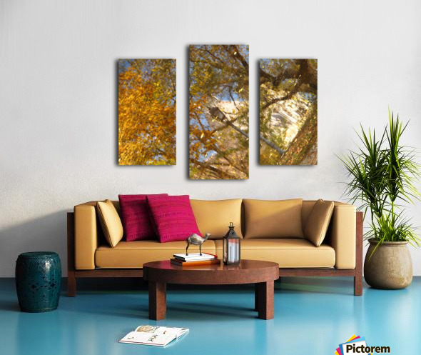 Autumn Reflections I Canvas print