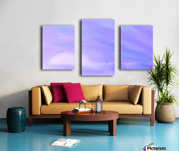 A Maui Twilight Setting Canvas print