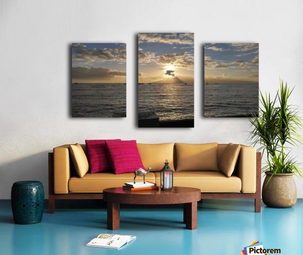Lanai' Rise Canvas print