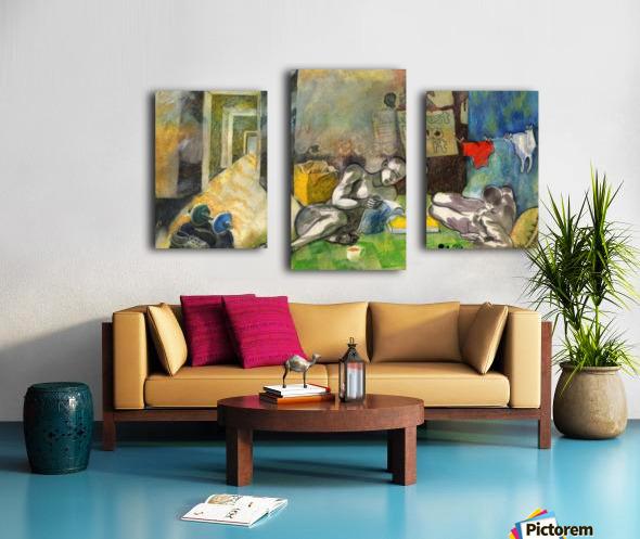 Bachelorhood Canvas print