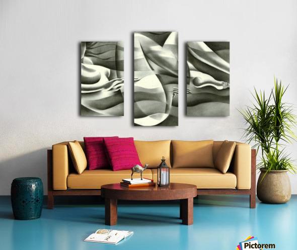 Roundism - 19-07-16 Canvas print