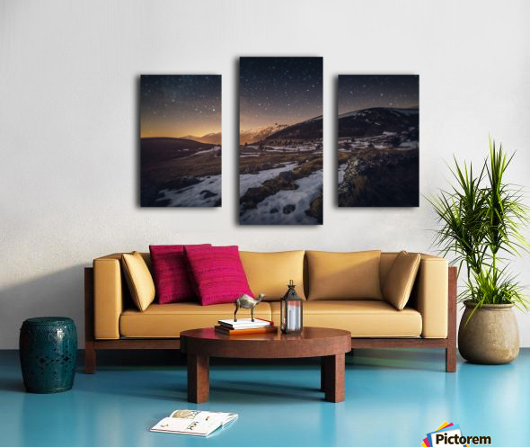 Ellipse Canvas print