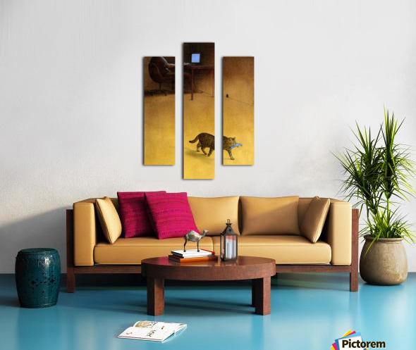 Modern Hunter Canvas print