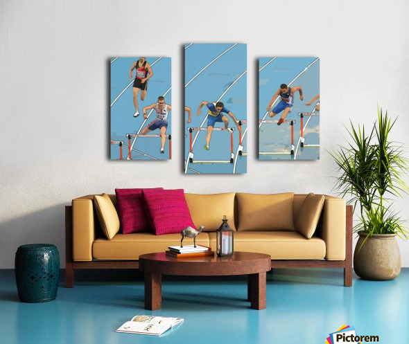 Athletics_13 Canvas print