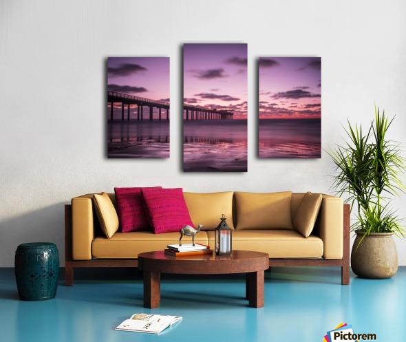 LaJolla Bridge Canvas print