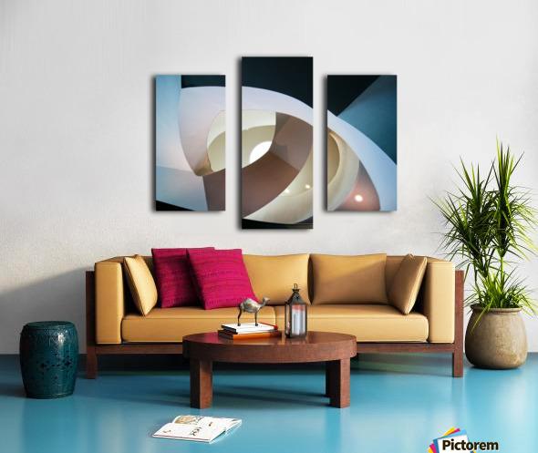 Top light Canvas print