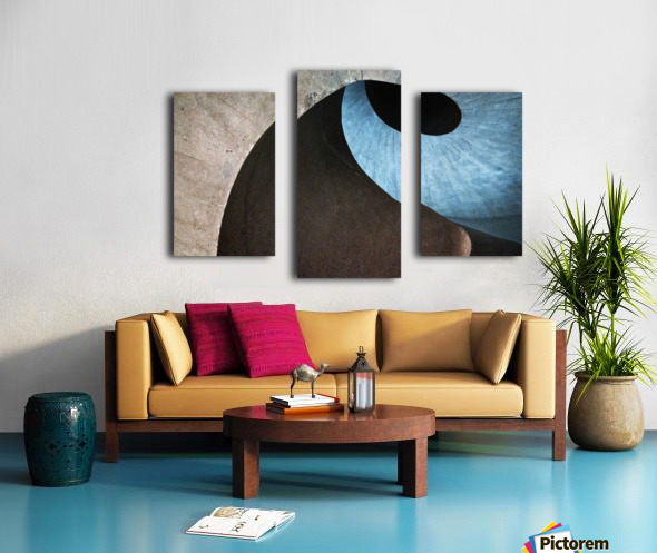 concrete wave Canvas print