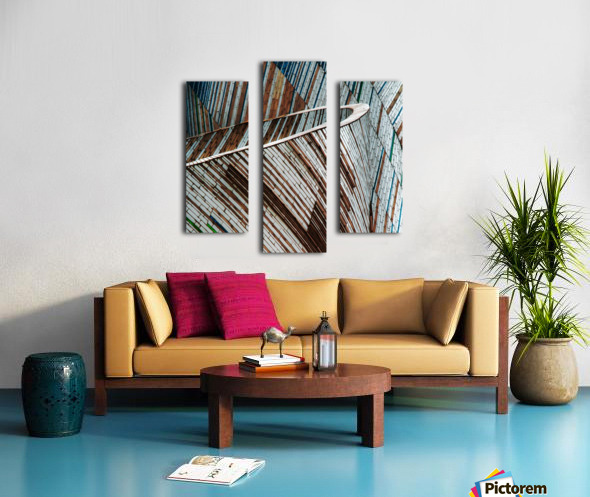 Colored Funnel Canvas print