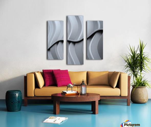 Just form,no function Canvas print