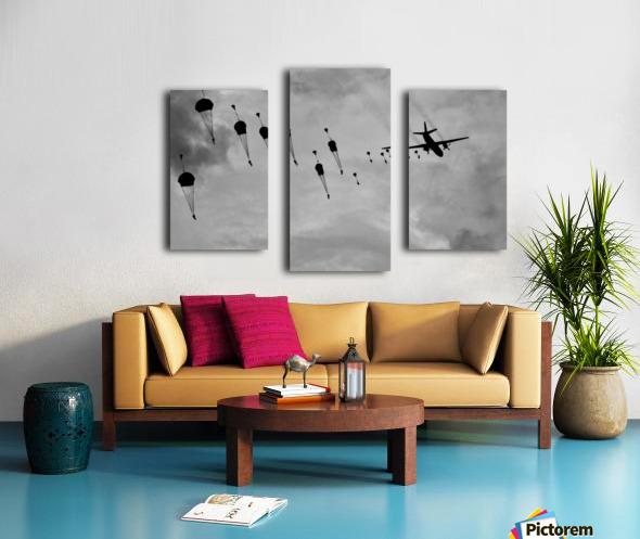 GO, GO, GO! Canvas print