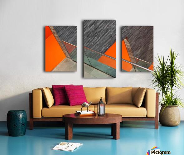 Repeat the orange Canvas print