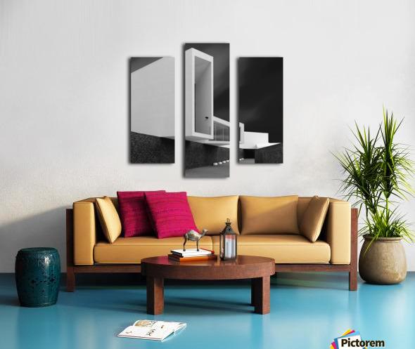 WHITE WALLS Canvas print