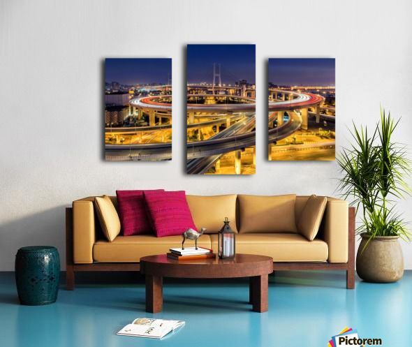 Nanpu Bridge Canvas print