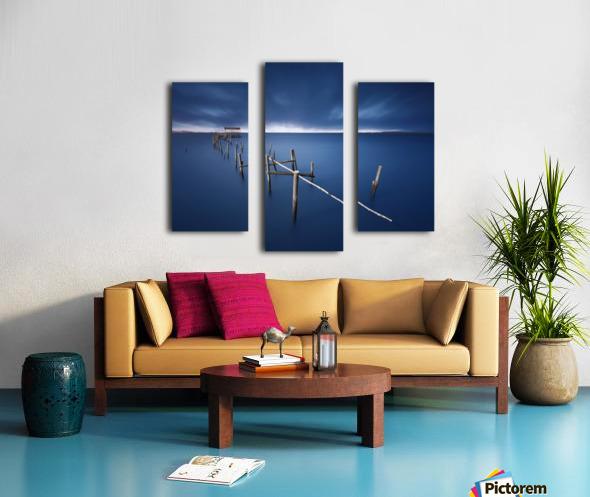 Carrasqueira azul Canvas print