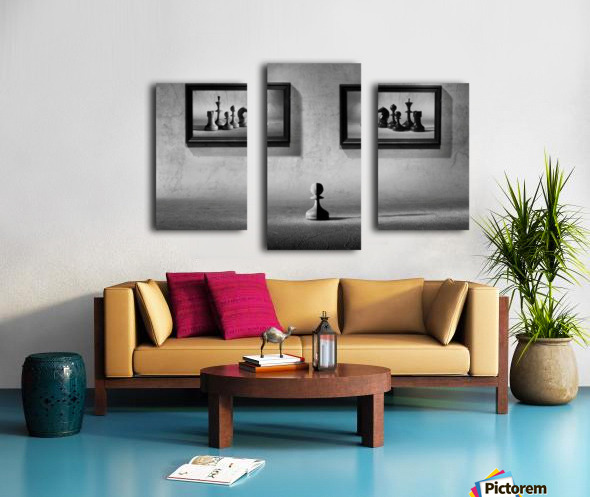 The choice to make Canvas print