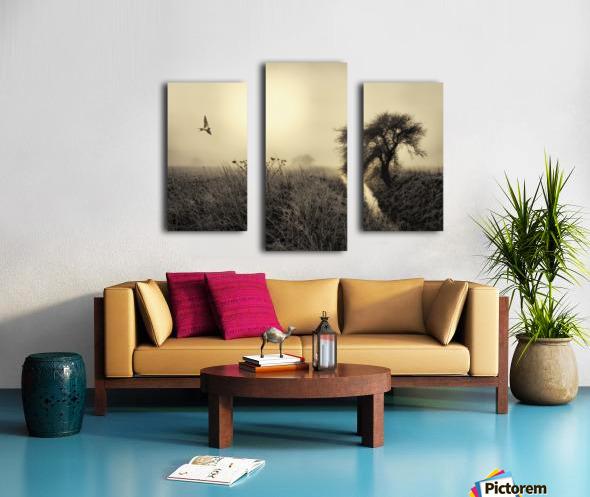 Morning mood Canvas print