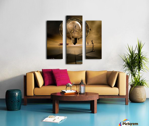 Even in the quietest Moment Canvas print