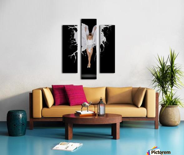 Liquidize Canvas print