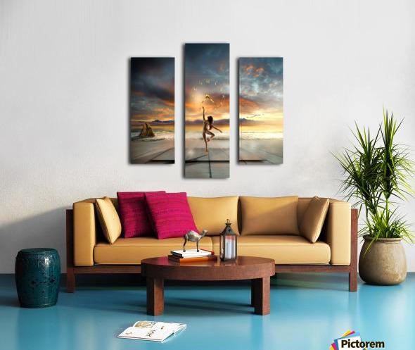 in my dreams ... Canvas print