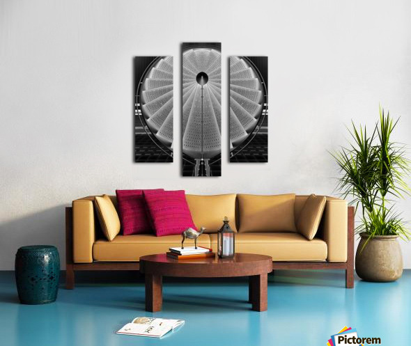 stepscircle Canvas print